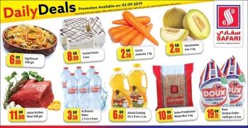 Safari Hypermarket Safari Hypermarket Daily Deals 02 September