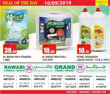 Rawabi Hypermarket Rawabi Hypermarket Deal Of The Day 10 September