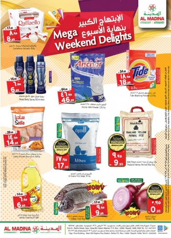 Al Madina Al Madina Mega Weekend Delight Offers