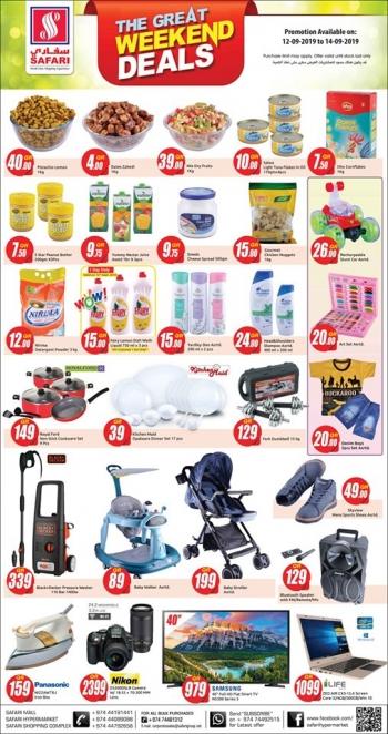 Safari Hypermarket Safari Great Weekend Deals