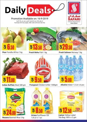 Safari Hypermarket Safari Hypermarket Daily Deals 16 September