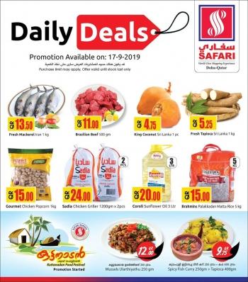 Safari Hypermarket Safari Hypermarket Daily Deals 17 September