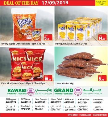 Rawabi Hypermarket Rawabi Hypermarket Deal Of The Day 17 September
