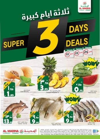 Al Madina Al Madina Hypermarket Super 3 Days Offers