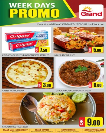 Grand Grand Hypermarket Week Days Promo Offers