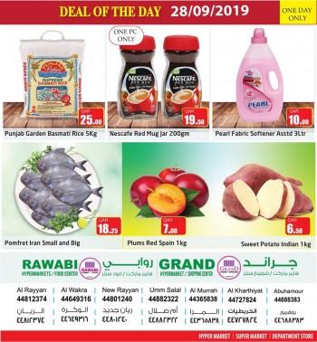 Rawabi Hypermarket Rawabi Hypermarket Deal Of The Day 28 September