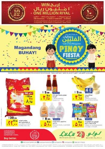 Lulu Lulu Riyadh Pinoy Fiesta Offers