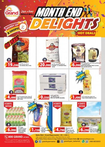 Grand Hypermarket Month End Delights