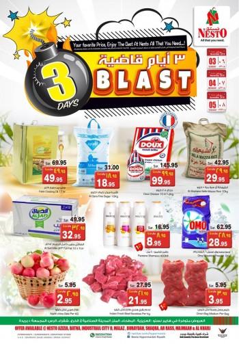 Nesto Nesto Hypermarket Riyadh 3 Days Blast Offers