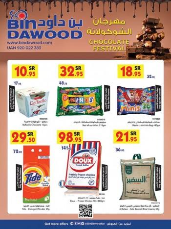 Bin Dawood Bin Dawood Chocolate Festival Great Offers