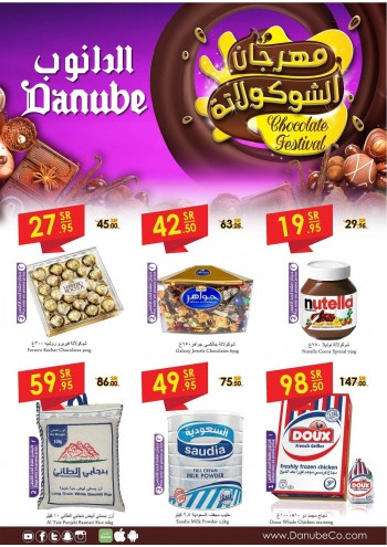 Danube Danube Riyadh Best Chocolates Festival