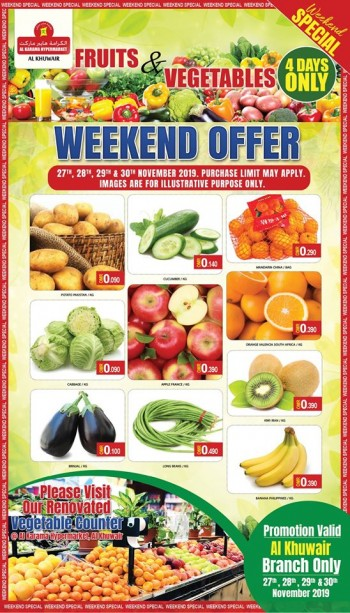 Al Karama Hypermarket 4 Days Only Offers