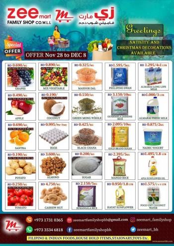 Zeemart Family Shop Special Offers