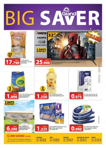 Grand Hypermarket Big Saver Offers
