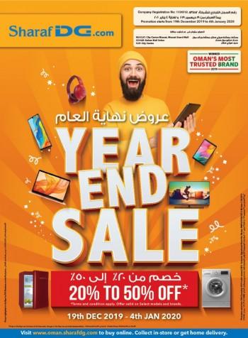 Sharaf DG Year End Sale Offers