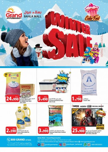 Grand Hypermarket Winter Sale Offers
