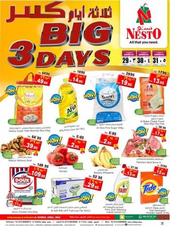 Nesto Nesto Hypermarket Big 3 Days Offers