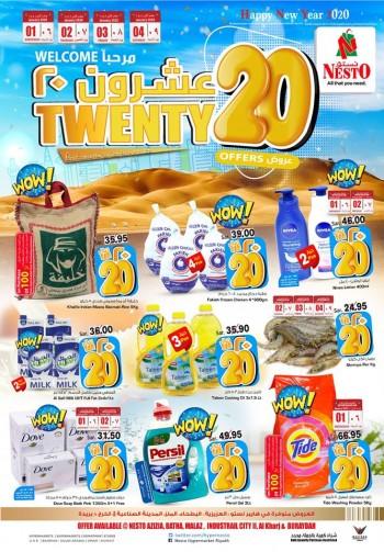 Nesto Nesto Hypermarket Riyadh Twenty 20 Offers