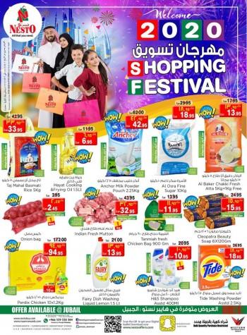 Nesto Nesto Hypermarket Jubail Shopping Festival Offers