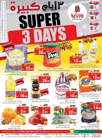 Nesto Nesto Dammam Super 3 Days Offer