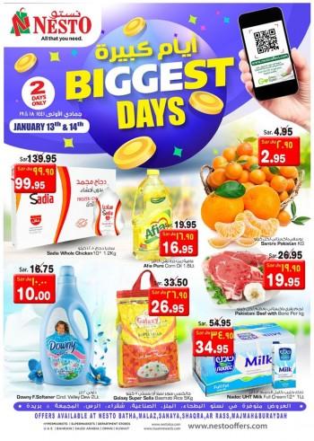 Nesto Nesto Hypermarket Biggest Days Offers