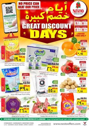 Nesto Nesto Great Discount Days Offers