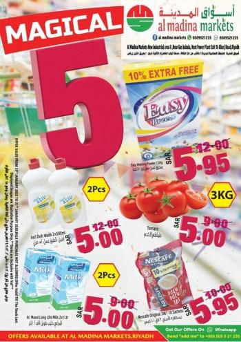 Al Madina Markets Al Madina Markets Magical 5 Offers