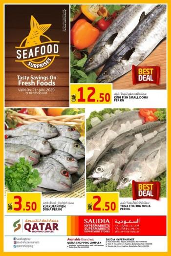 Saudia Hypermarket Saudia Hypermarket Seafood Surprises 21 January 2020