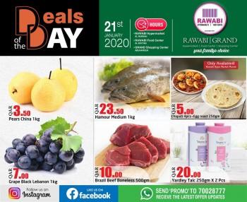 Rawabi Hypermarket Rawabi Deal Of The Day 21 January 2020