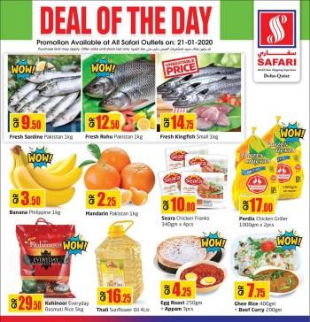 Safari Hypermarket Safari Deal Of the Day 21 January 2020