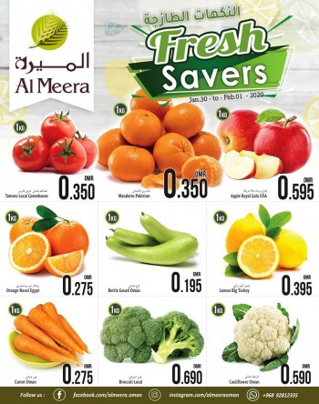 Al Meera Hypermarket Al Meera Hypermarket Fresh Savers Offers