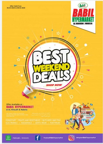 Babil Hypermarket Babil Hypermarket Best Weekend Deals