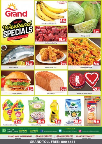 Grand Grand Hypermarket Weekend Special Offers