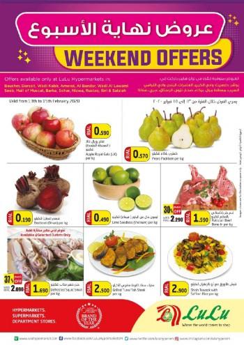 Lulu Lulu Hypermarket Best Weekend Offers