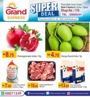 Grand Grand Express Super Deals 18 February 2020