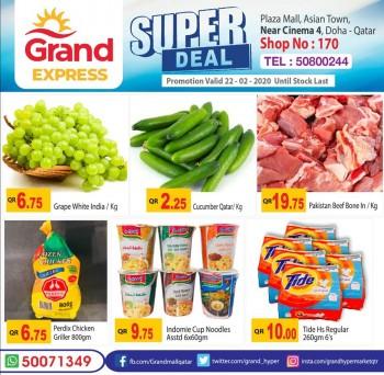 Grand Grand Express Super Deals 22 February 2020