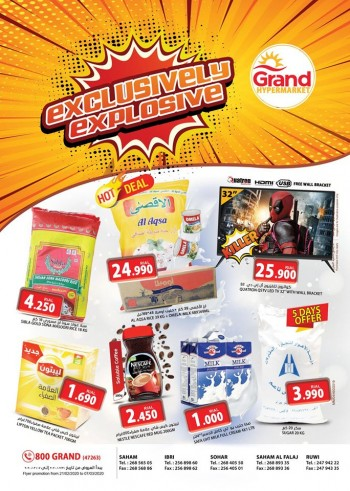 Grand Hypermarket Exclusively Explosive Offers