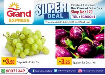 Grand Grand Express Super Deals 26 February 2020