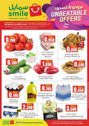 Smile Hypermarket Saham Weekend Unbeatable Offers