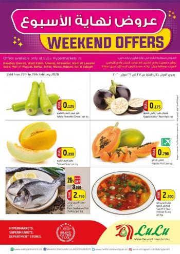 Lulu Lulu Hypermarket Weekend Savings Offers