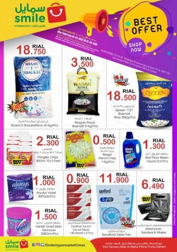 Smile Hypermarket Saham Best Weekend Offers