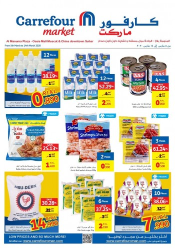 Carrefour Carrefour Market Weekend Promotions