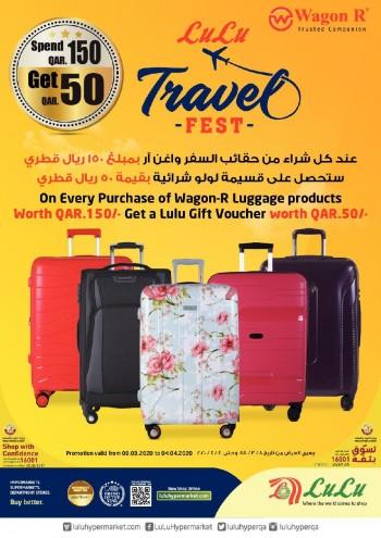 Lulu Lulu Hypermarket Travel Fest Offers
