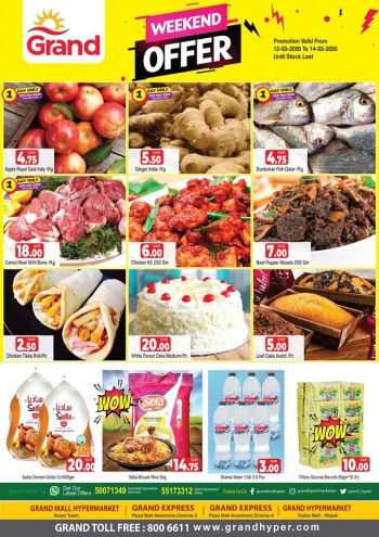 Grand Grand Hypermarket Grand Weekend Promotions
