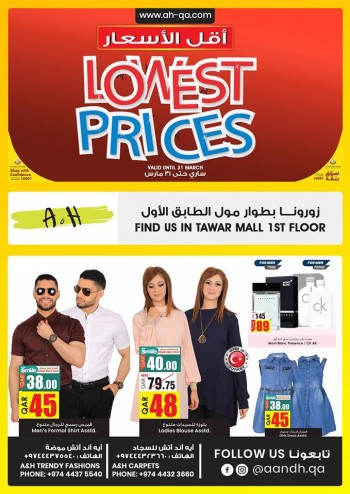 A & H Lowest Prices Offers