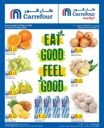 Carrefour Carrefour Eat Good Feel Good Offers
