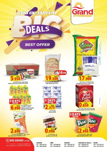 Grand Hypermarket Month End Big Deals