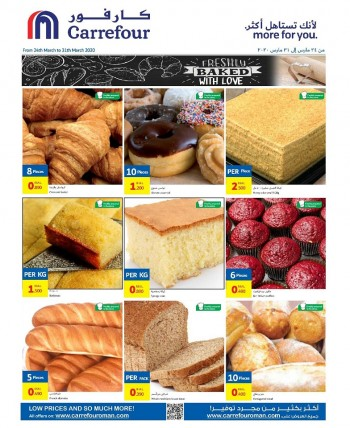 Carrefour Freshly Baked With Love Offers