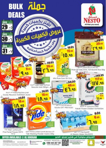Nesto Nesto Al Khobar Bulk Deals