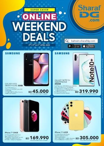 Sharaf DG Online Weekend Deals